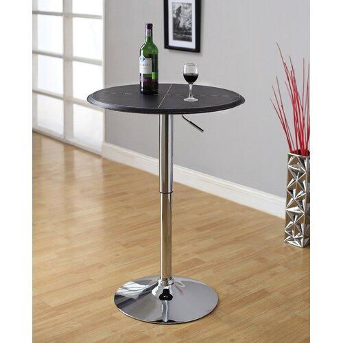 Citizen Leatherette Adjustable Bar Table