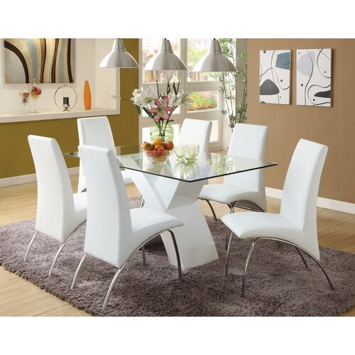 Hokku Designs Novae 7 Piece Dining Set