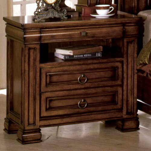 Hokku Designs Randel 2 Drawer Nightstand