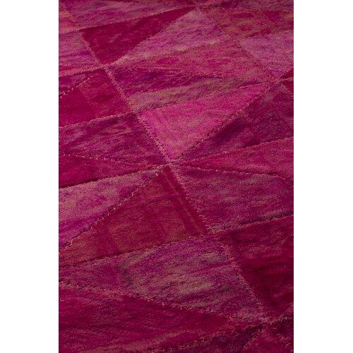 Hokku Designs Tile Viviana Pink Rug