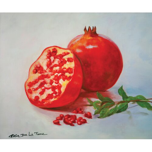 Granatum Painting Print on Canvas