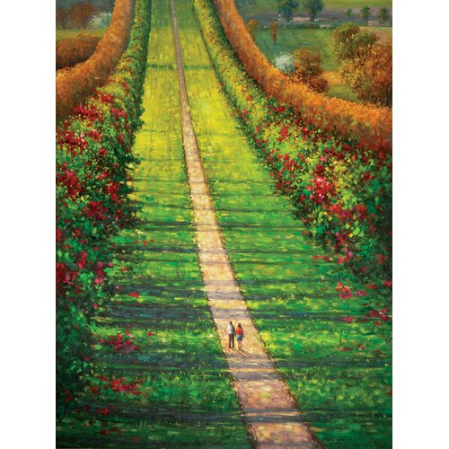 Hokku Designs Our Path Original Painting on Canvas