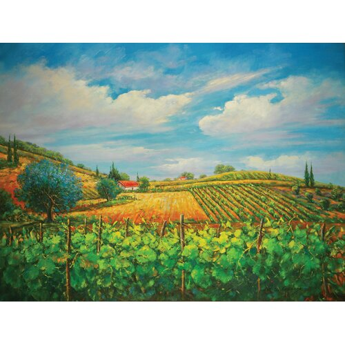 Summer in Napple Original Painting on Canvas