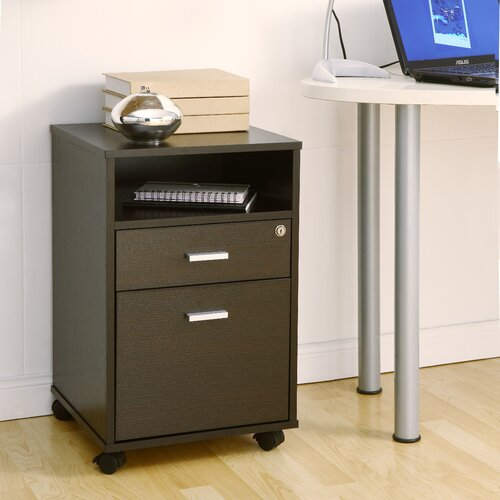 Hokku Designs 2-Drawer Classic Rolling Mobile  File