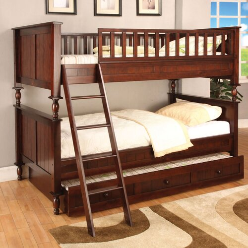 Milton Twin over Twin Bunk Bed with Ladder