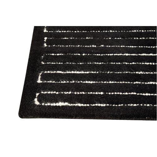 Hokku Designs Maze Black/White Rug