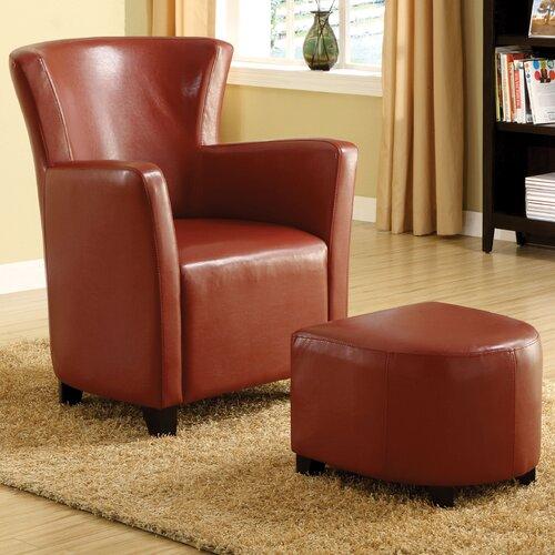 Hokku Designs Haven Chair and Ottoman
