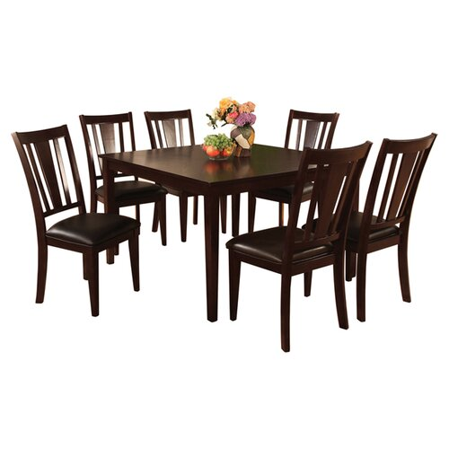 Hokku Designs Bridgette 7 Piece Dining Set