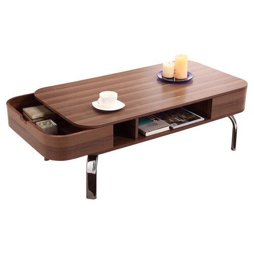 hokku designs lynlee coffee table reviews wayfair. Black Bedroom Furniture Sets. Home Design Ideas