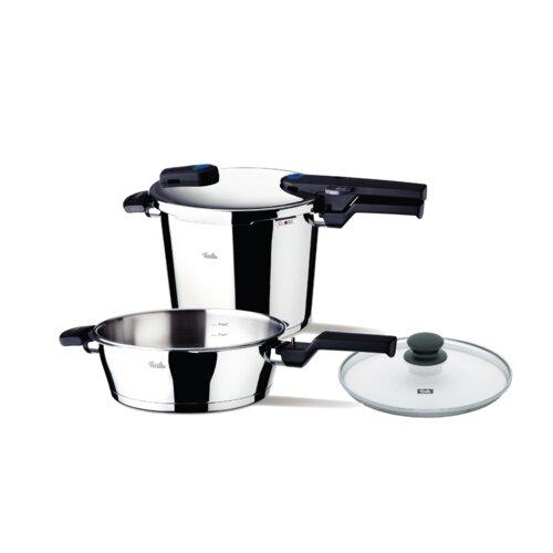 Vitaquick Quattro-Set 6.0L Pressure Cooker and 2.5L p/s with Lid