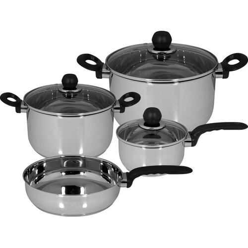 Practika Stainless Steel 7-Piece Cookware Set
