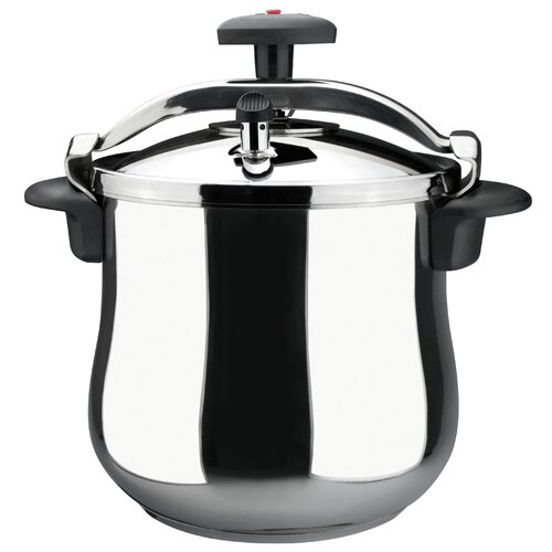 Star Belly Stainless Steel Fast Pressure Cooker (Set of 4)