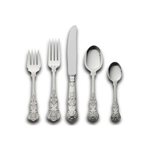 Sterling 365 Queens 46 Piece Dinner Flatware Set
