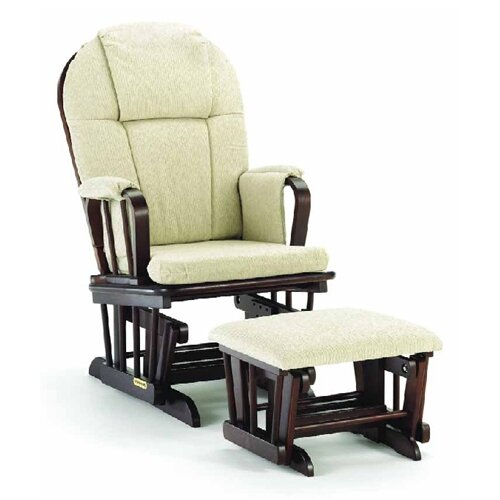 Shermag Glider and Ottoman