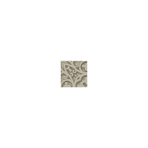 "Shaw Floors Lunar Listello Corner 2"" x 2"" Tile Accent in Beige"