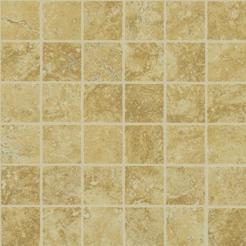 Piazza Mosaic Tile Accent in Gold