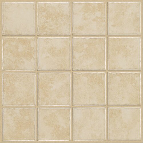 Shaw Floors Colonnade Ceramic Floor Tile in White