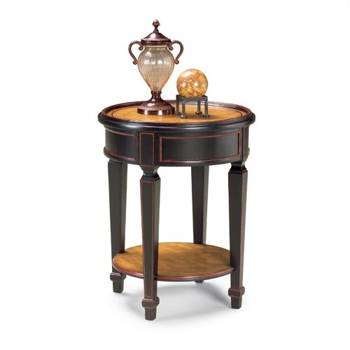 HeatherBrooke Furniture Circular End Table