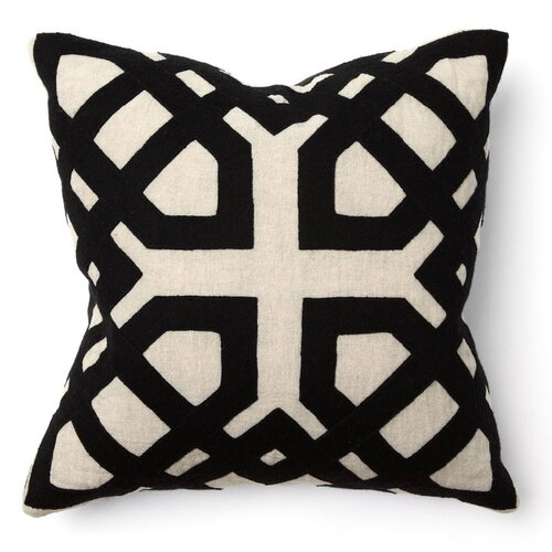 African Mod Kalena Applique Pillow