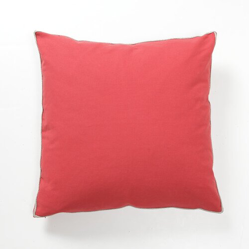 Kosas Home Solid Textures Elemento Cotton Canvas Pillow