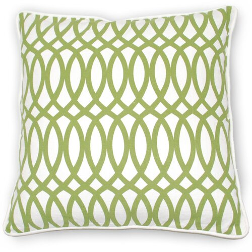 Kosas Home Fields Ellipse Cotton Pillow