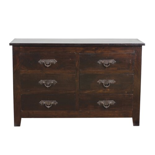 Tuscany 6 Drawer Dresser