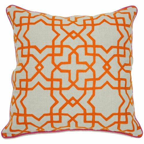 Kosas Home Carnaby Street Baldosa Linen Pillow