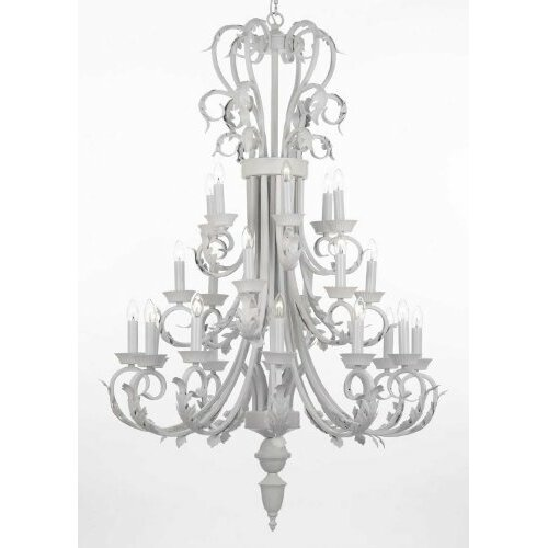 Versailles 24 Light Candle Chandelier