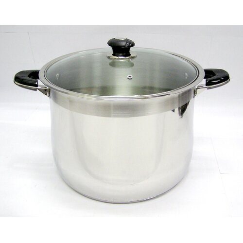 Mega Cook Stock Pot with Lid