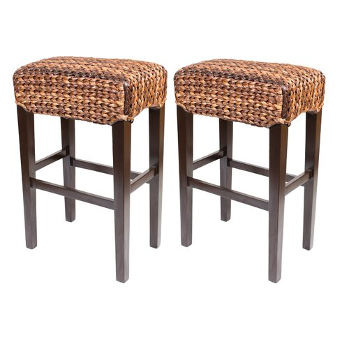 Birdrock Home Seagrass 31 5 Quot Bar Stool Amp Reviews Wayfair