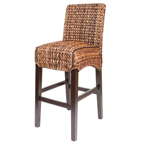 Birdrock Home Seagrass Bar Stool Amp Reviews Wayfair