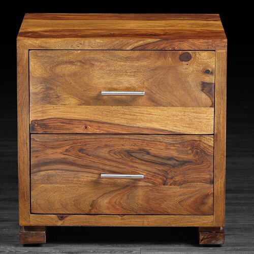Sandy 2 Drawer Nightstand