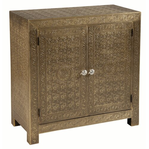 Portico Brass 2 Door Cabinet