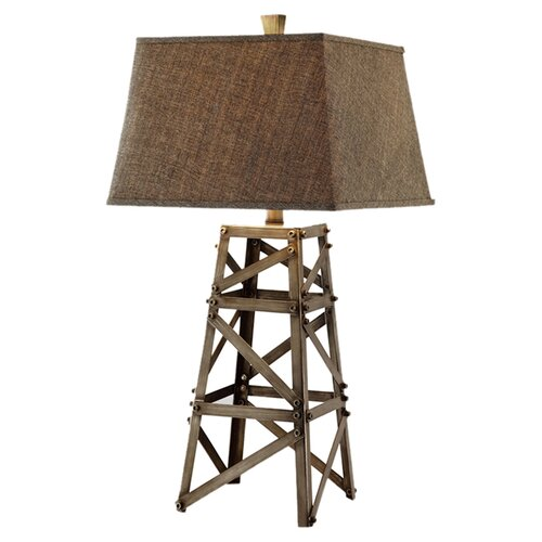 """Stein World Meadowhall 32"""" H Table Lamp with Rectangle Shade"""