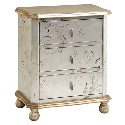 3 Drawer Chairside Chest