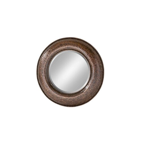 Hammered Round Mirror