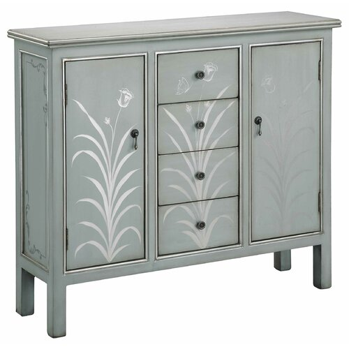 Stein World 2 Door 4 Drawer Accent Cabinet