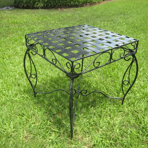 Mandalay Iron Patio Side Table