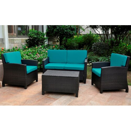 Resin patio furniture wayfair for Outdoor furniture wayfair