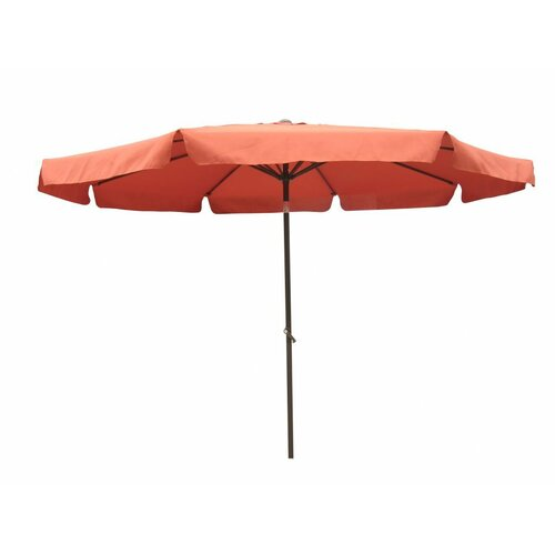 St. Kitts 8-Foot Aluminum Patio Umbrella with Crank