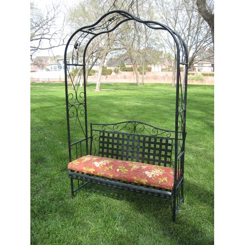 International Caravan Mandalay Outdoor Arbor Bench