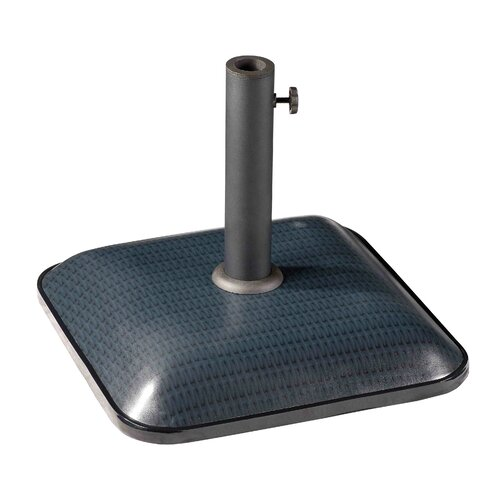 International Caravan Castile Outdoor Free Standing Square Umbrella Base
