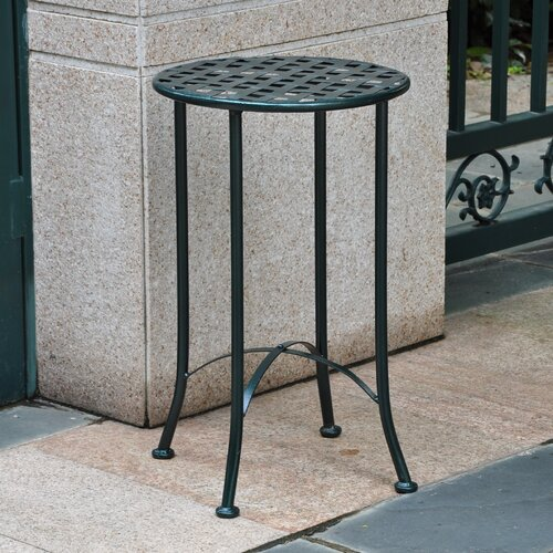 Mandalay 16-inch Iron Patio Side Table