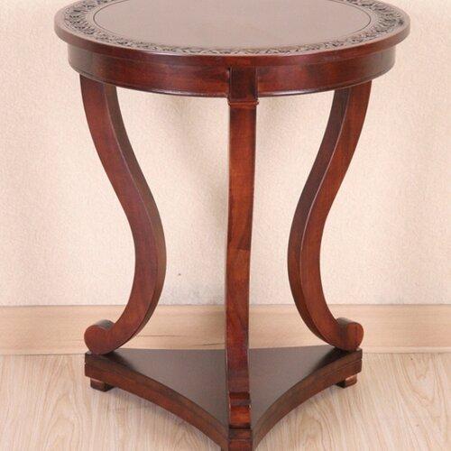Windsor Hand Carved End Table