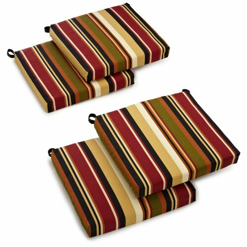 Blazing Needles All-weather UV-Resistant Outdoor Chair Cushions