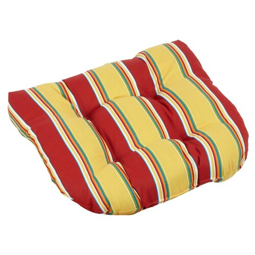 All-Weather UV Resistant U-shaped Outdoor Chair Cushions (Set of 2)