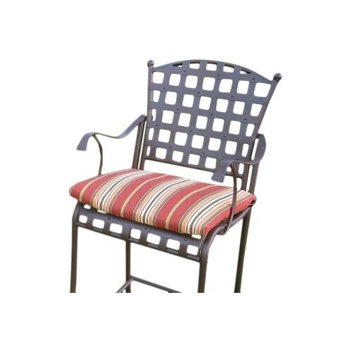 Blazing Needles Outdoor Bistro Chair Cushion Reviews Wayfair