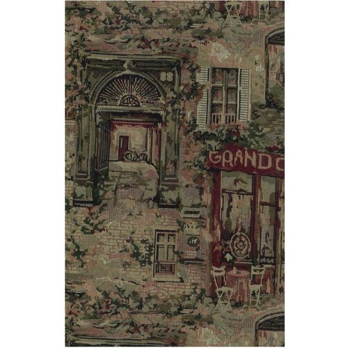 Blazing Needles Tapestry Café De Paris Futon Cover Set