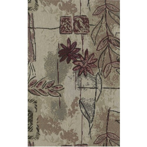 Blazing Needles Tapestry Japanese Garden Futon Cover