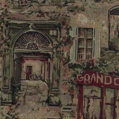 Blazing Needles Tapestry Café De Paris Futon Slipcover